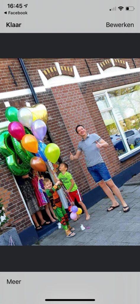 Meinesz Bennesz Feestballonnen 25